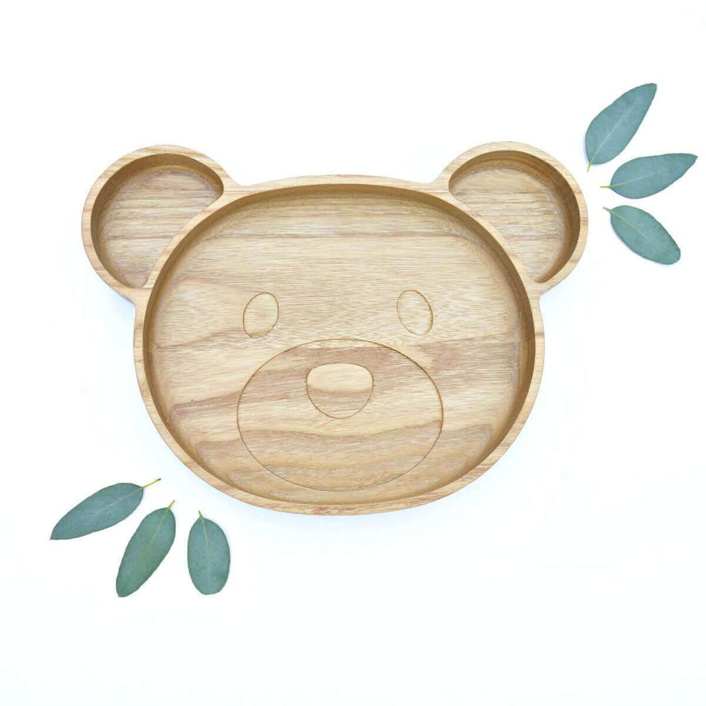 Eco Wooden Bear Plate