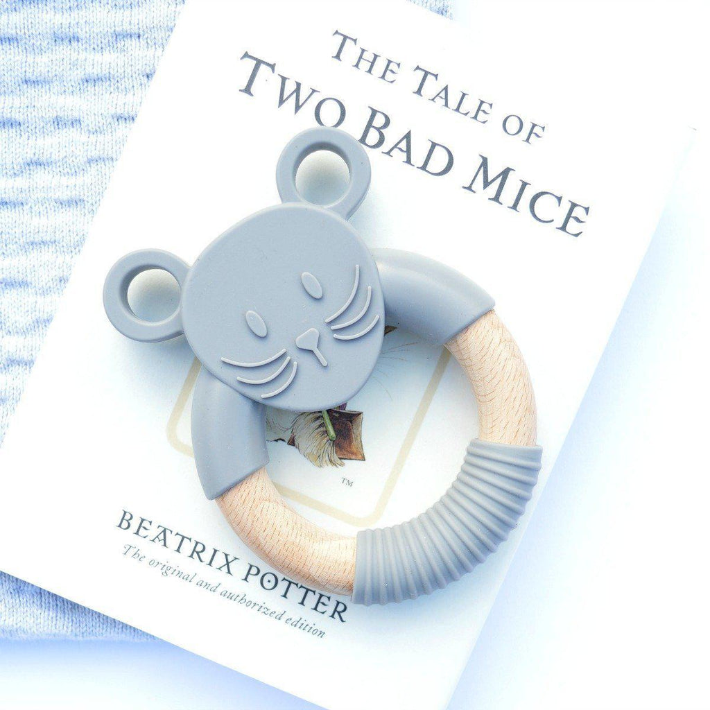 Wood_Silicone_Baby_Teether_Toy_Storm_Grey_Mouse