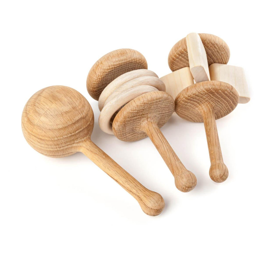 Wooden Rattle - Crackle