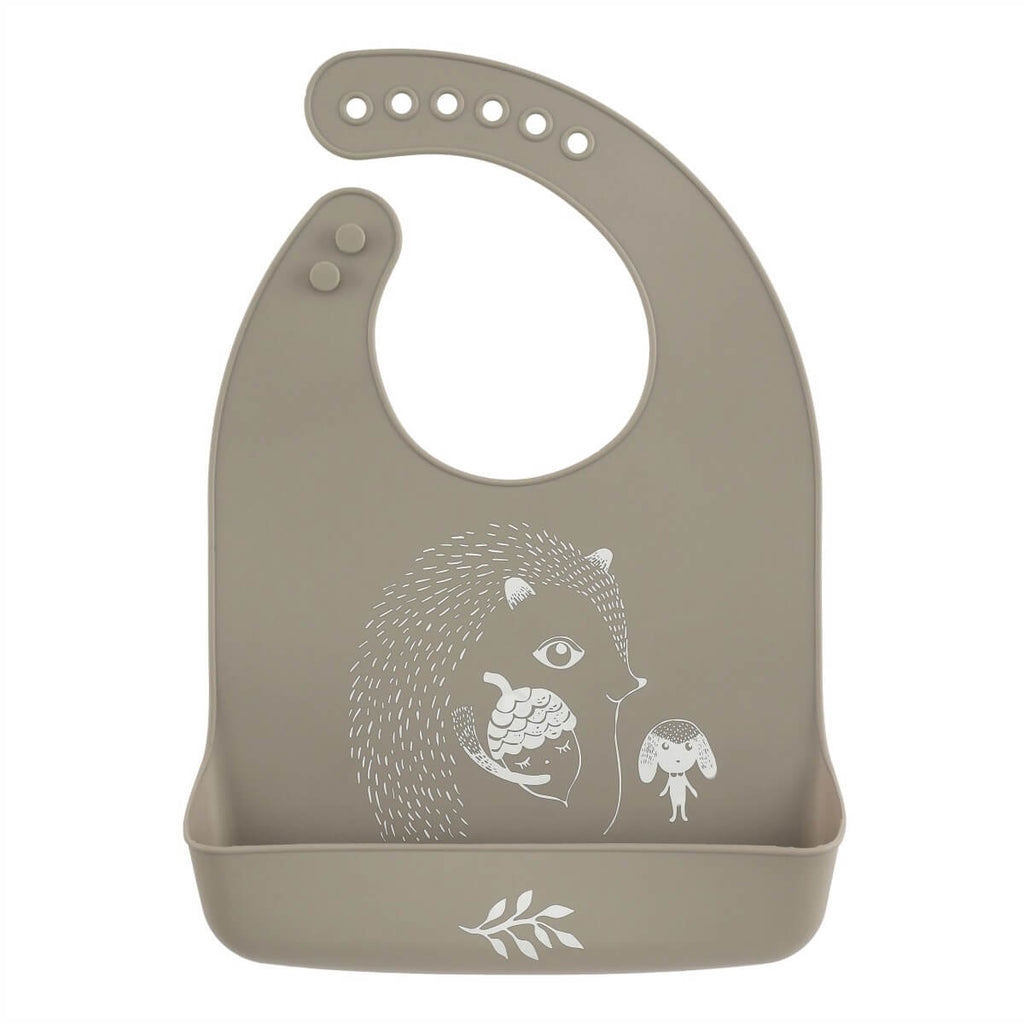 Hedgehog Baby Bib