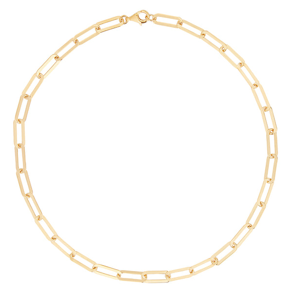 Gold Short Chain Necklace