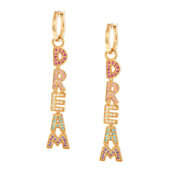 DREAM Charm Hoops