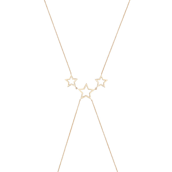 Gold Star Body Chain