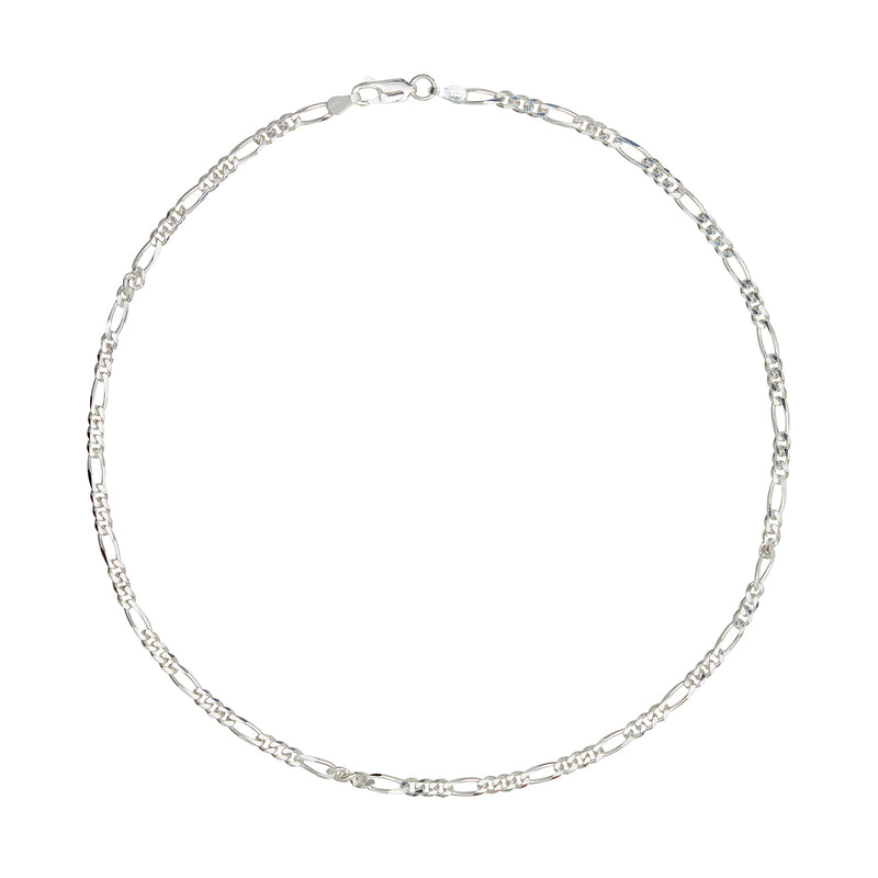 Silver Multi Link Chain Necklace