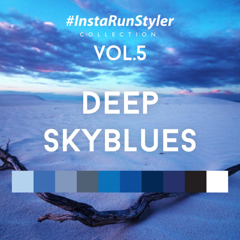 InstaRunStyler Vol.5 Deep Skyblues