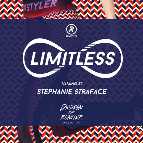 Design for Runners - Limitless - naming by Stephanie Straface