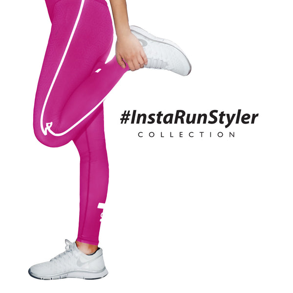 Custom Tights | #InstaRunStyler | Hot Pink - RunStyler - 3