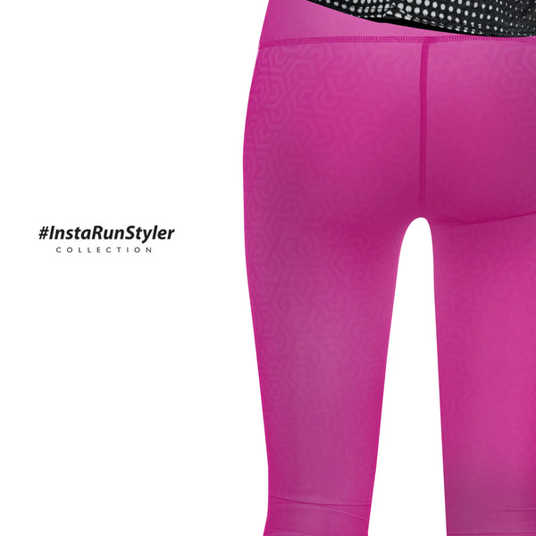 Custom Tights | #InstaRunStyler | Hot Pink - RunStyler - 5
