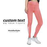 Custom Tights | #InstaRunStyler | Blush - RunStyler - 2