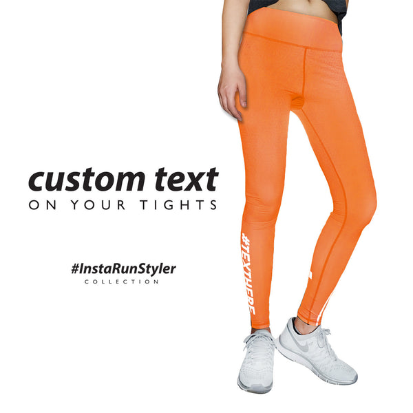 Custom Tights | #InstaRunStyler | Terracotta - RunStyler - 2