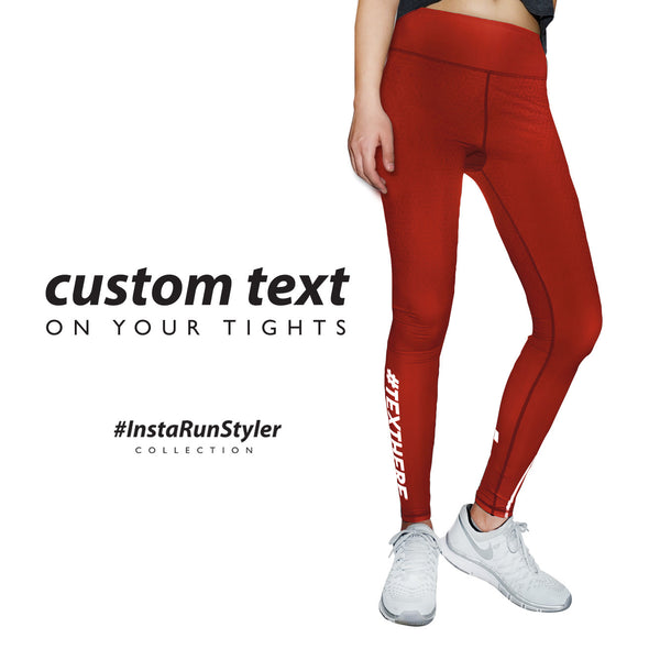 Custom Tights | #InstaRunStyler | Chocolate - RunStyler - 2