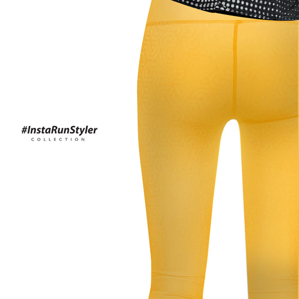 Custom Tights | #InstaRunStyler | Sun Flower - RunStyler - 5