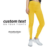 Custom Tights | #InstaRunStyler | Lemon - RunStyler - 2
