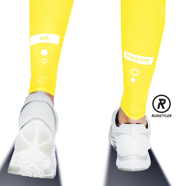 Custom Tights | #InstaRunStyler | Yellow - RunStyler - 4