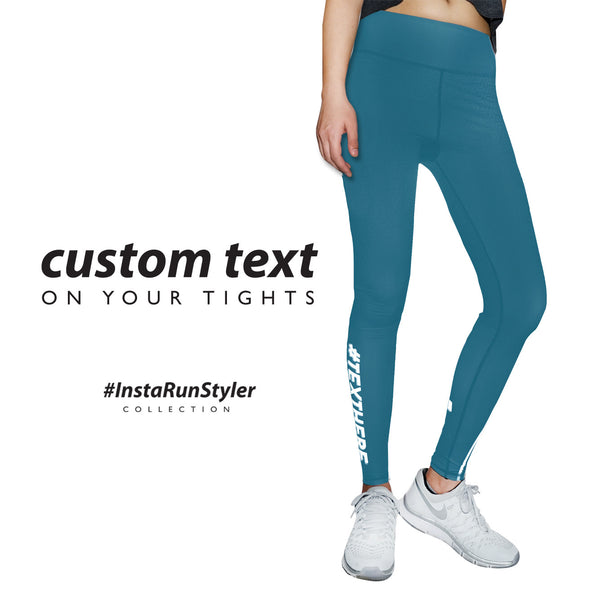 Custom Tights | #InstaRunStyler | Teal - RunStyler - 2