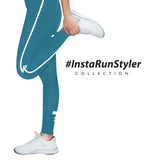 Custom Tights | #InstaRunStyler | Teal - RunStyler - 3