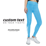 Custom Tights | #InstaRunStyler | Cyan - RunStyler - 2