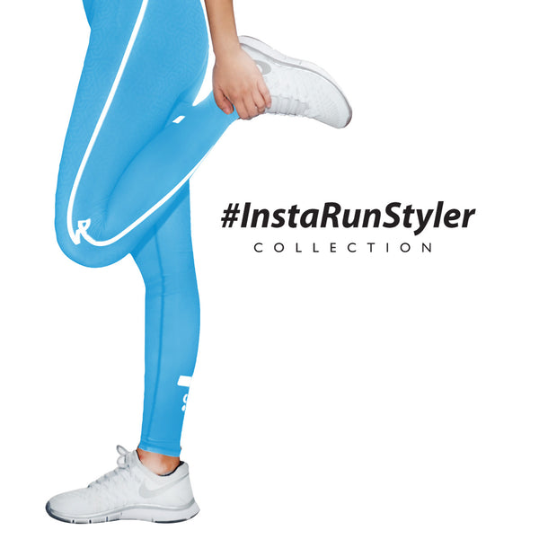 Custom Tights | #InstaRunStyler | Cyan - RunStyler - 3