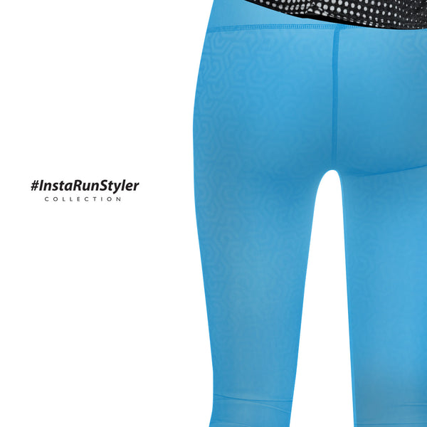 Custom Tights | #InstaRunStyler | Cyan - RunStyler - 5