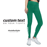 Custom Tights | #InstaRunStyler | Emerald - RunStyler - 2
