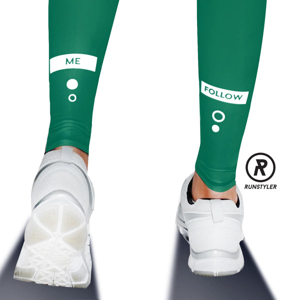 Custom Tights | #InstaRunStyler | Emerald - RunStyler - 4