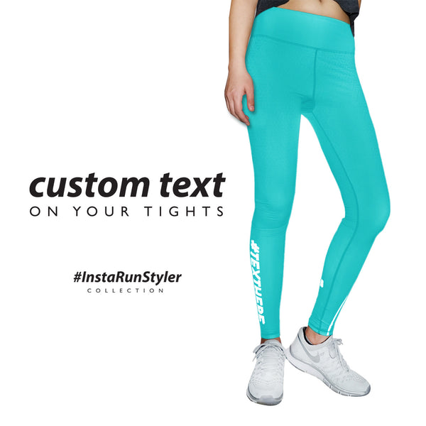 Custom Tights | #InstaRunStyler | Aqua - RunStyler - 2