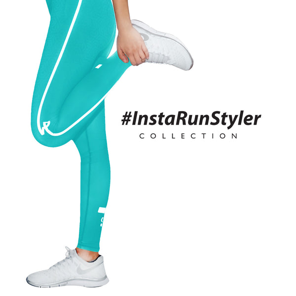 Custom Tights | #InstaRunStyler | Aqua - RunStyler - 3