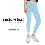 Custom Tights | #InstaRunStyler | Cornflower - RunStyler - 2