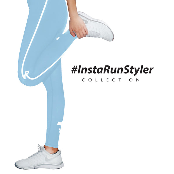 Custom Tights | #InstaRunStyler | Cornflower - RunStyler - 3