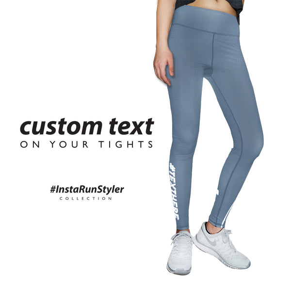 Custom Tights | #InstaRunStyler | Steel - RunStyler - 2