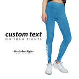Custom Tights | #InstaRunStyler | Marine Blue - RunStyler - 2