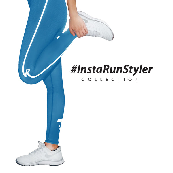 Custom Tights | #InstaRunStyler | Marine Blue - RunStyler - 3