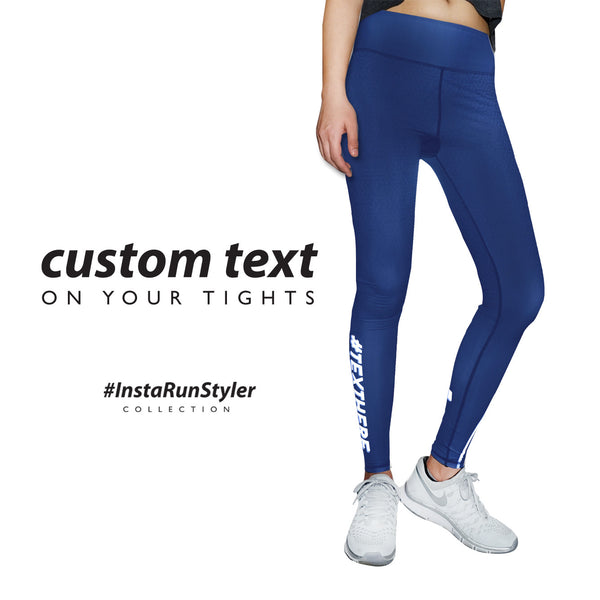 Custom Tights | #InstaRunStyler | Navy - RunStyler - 2