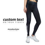 Custom Tights | #InstaRunStyler | Black - RunStyler - 2