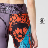 Custom Tights  | 13 Dream Rider | Dream Girl | Orange - RunStyler - 6