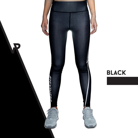Custom Tights | #InstaRunStyler | Black - RunStyler - 1