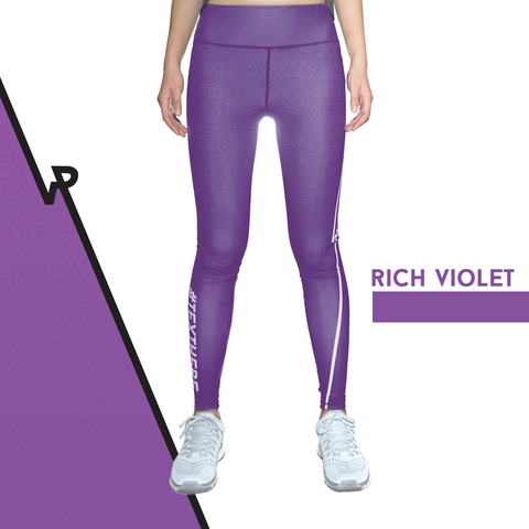 Custom Tights | #InstaRunStyler | Rich Violet - RunStyler - 1