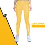 Custom Tights | #InstaRunStyler | Sun Flower - RunStyler - 1