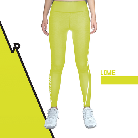 Custom Tights | #InstaRunStyler | Lime - RunStyler - 1