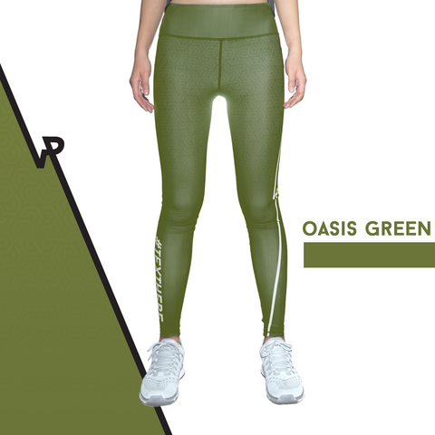 Custom Tights | #InstaRunStyler | Oasis Green - RunStyler - 1
