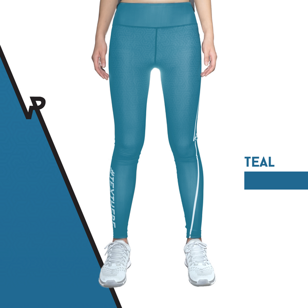 Custom Tights | #InstaRunStyler | Teal - RunStyler - 1