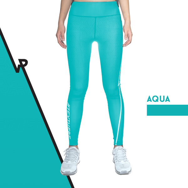 Custom Tights | #InstaRunStyler | Aqua - RunStyler - 1
