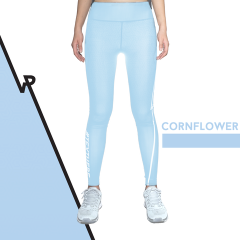 Custom Tights | #InstaRunStyler | Cornflower - RunStyler - 1