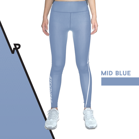 Custom Tights | #InstaRunStyler | Mid Blue - RunStyler - 1