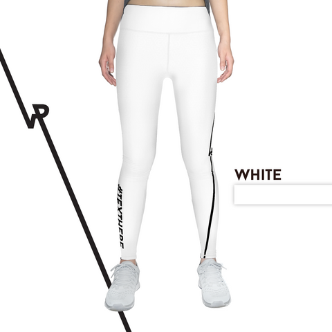 Custom Tights | #InstaRunStyler | White - RunStyler - 1