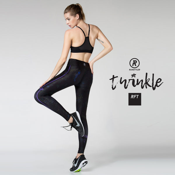 Custom Tights  | RFT | twinkle | black - RunStyler - 7