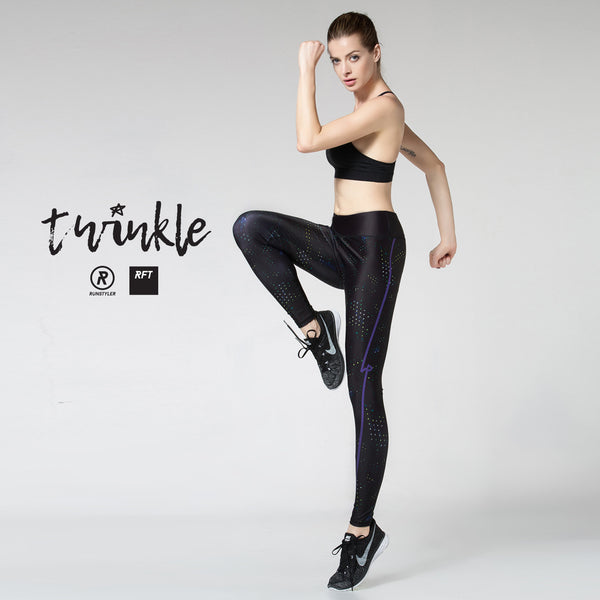 Custom Tights  | RFT | twinkle | black - RunStyler - 4