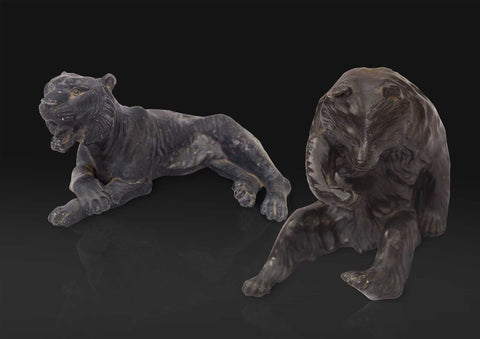 Lion & Bear figures