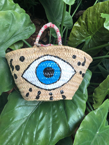 Eyes on me ! Beach Bag