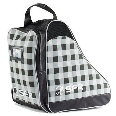 SFR Black Chequered Skate Bag